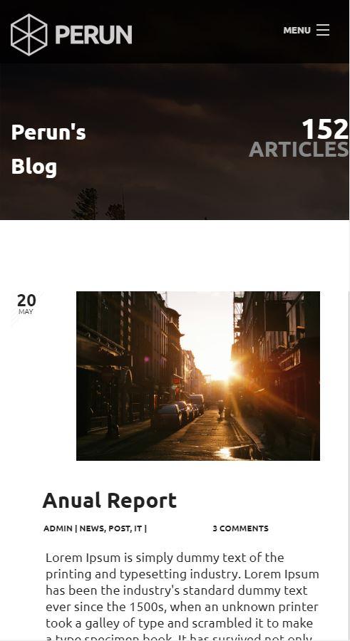 izrada sajta perun blog