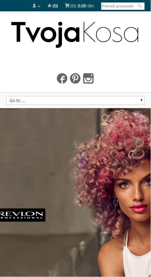 izrada sajta tvoja kosa online prodavnica